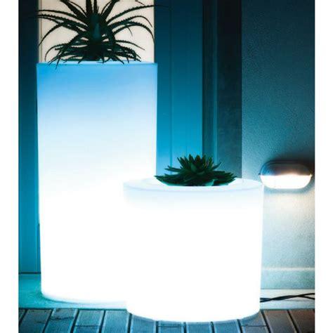 serralunga tubini illuminated outdoor planter lighted