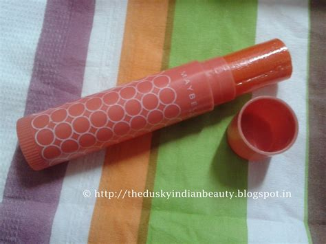 Maybelline Lip Balm Smoothness Lip Balm Meybeline maybelline lip smooth color and care lip balm mandarin the indian