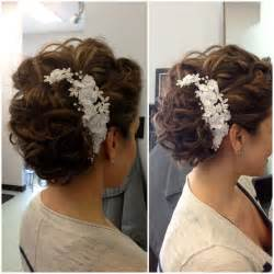 Hair Accessories For Wedding Updos by Wedding Hair Updo Hair Accessories Curls