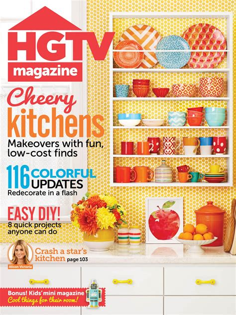 Hgtv Magazine Cover Giveaway - hgtv magazine september 2014 hgtv