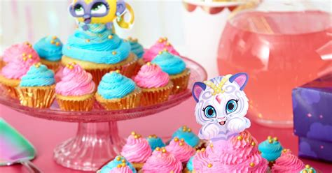 shimmer  shine cupcake toppers nickelodeon parents