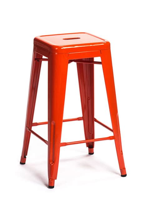 pink and brown union 26 quot counter stool orange tx105