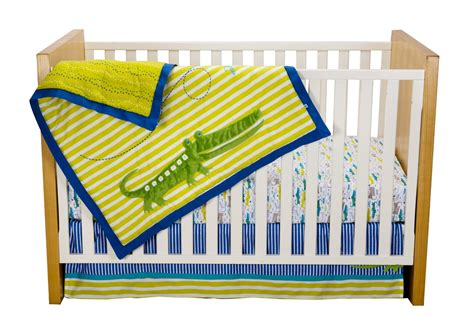Zutano Alligators Baby Bedding Collection Baby Bedding Zutano Crib Bedding