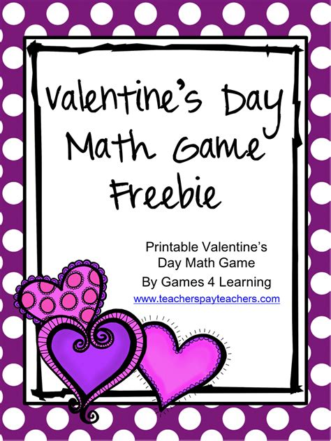 math valentines math for second graders s day