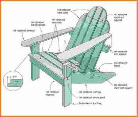 Adirondack Chair Template by Adirondack Chair Plans Free Templates Adirondack
