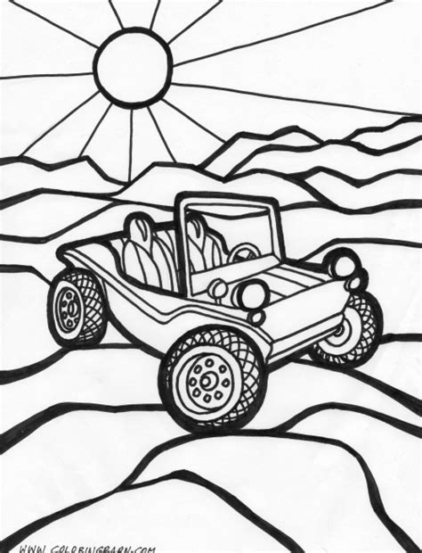 dune buggy coloring pages places to visit pinterest