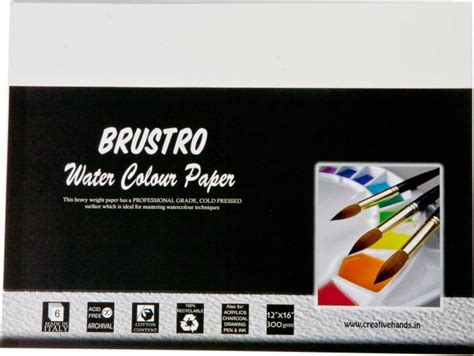 Toner Temualwak Sticker Kertas brustro watercolor paper webwoud