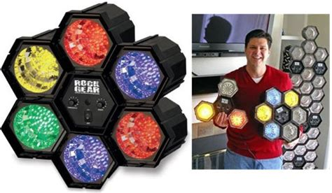 cool things to buy for your room configurable hexolight mimics concert lights flashes