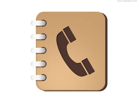 Phone Search Phone Book Icon Psd Psdgraphics