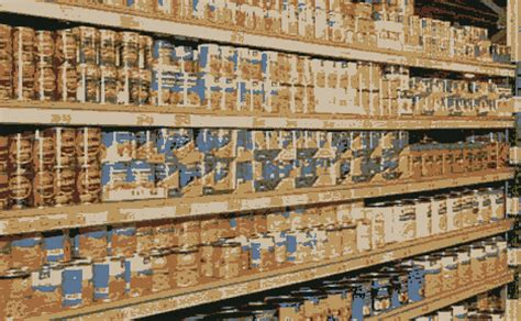 Shelf Study Of Food Products by Canned Food Shelf Studies The Survival Place
