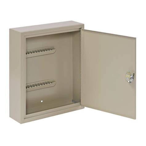 key cabinet home depot buddy products 30 key cabinet in beige 0130 6 the home depot
