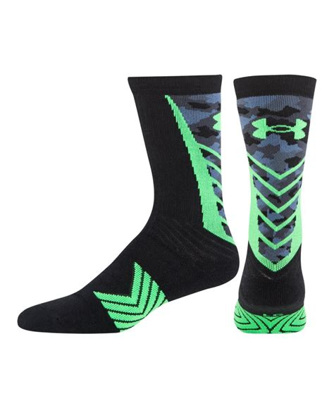 under armoir socks men s under armour undeniable camo crew socks ebay