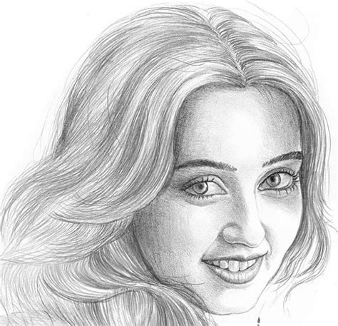 Sketches Faces by 100 Sketches Pencil Sketches Free Premium