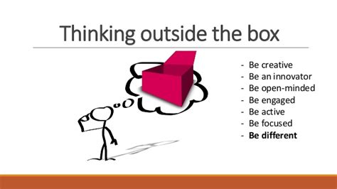 Always Think Outside The Box 2 think outside the box a2a 2017
