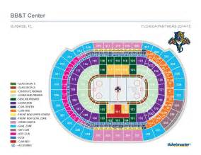 Bb T Center Floor Plan florida panthers hockey seating map