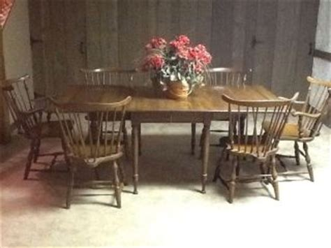 Ethan Allen Early American Maple Dining Room Set Table 4 Early American Dining Room Furniture