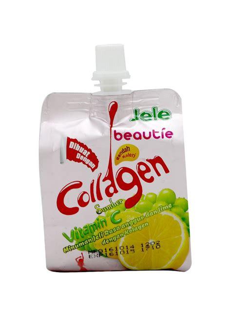 jele minuman beautie collagen pcs 150g klikindomaret