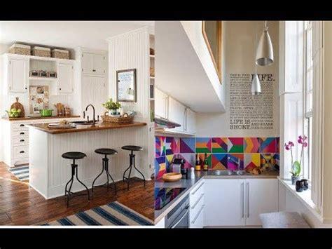 cocinas pequenas modernas  bonitas decoracion  youtube