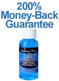Detox Mouthwash For Saliva Test by Beating The Saliva Test With Detox Mouthwash