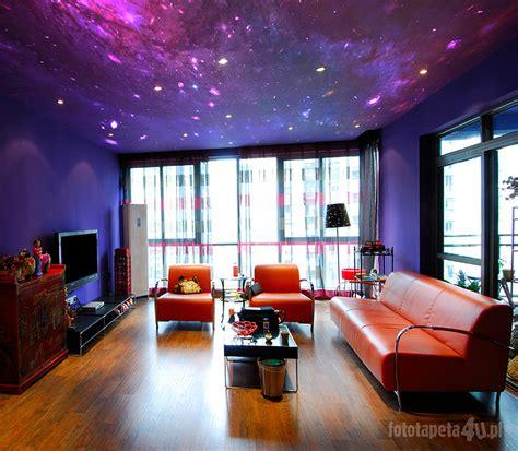 galaxy bedroom walls kosmos na suficie czyli fototapeta z kosmosem nad twoją
