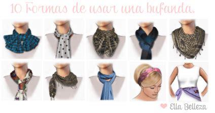 como usar la bufanda ella belleza 10 formas de usar una bufanda