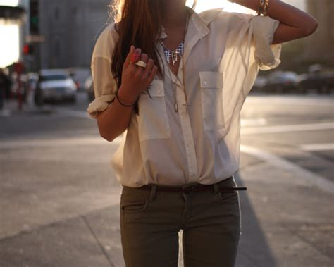 Fashions To Come by Sheer Blouse On