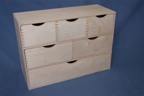 Wooden Box With Drawer by 321 Plain Wood Wooden Box Storage Cupboard Chest Of