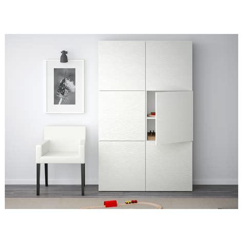ikea besta door best 197 storage combination with doors laxviken white