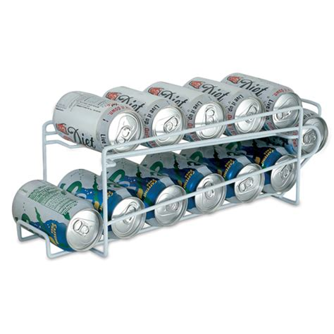 soda racks for cans white beverage can rack 12 cans in can storage