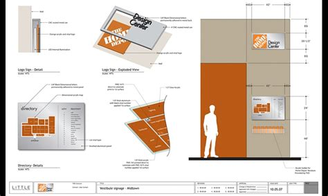 Home Depot Layout Design | home depot design center segd