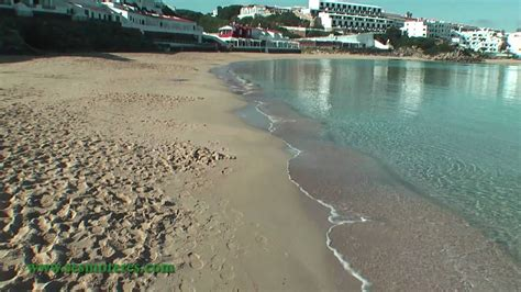 execelente apartamento en la preciosa playa de sarenal  en castell menorca youtube