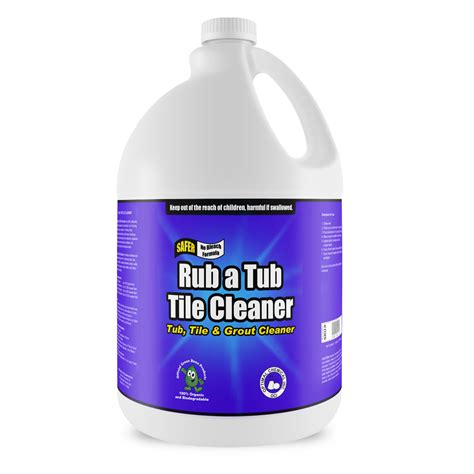 non toxic upholstery cleaner rub a tub tile cleaner non toxic 1 gallon