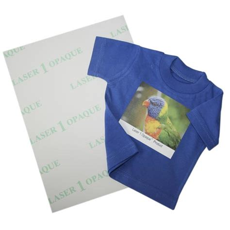 Laser Printer Transfer Paper transfer paper for textiles for laser printers laser 1 opaque a4 basic weight 130