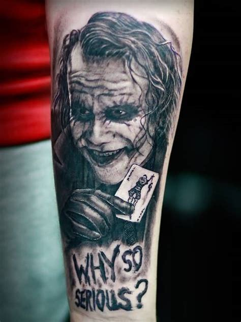 joker sleeve tattoo designs black ink why so serious 3d joker on lower