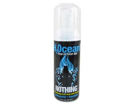 tattoo aftercare products canada nothing foam soap with lidocaine h2ocean products