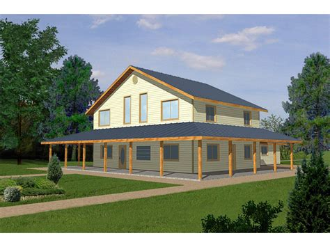 Country Style House With Wrap Around Porch Large Country Style House With Wrap Around Porch House