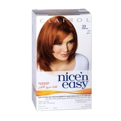 color eazy hair dye n easy permanent hair dye bright 33