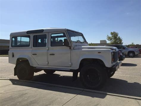 80s land rover 1988 land rover defender 110 for sale