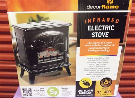 Decor Infrared Electric Stove by Decor Electric Infrared Stove Heater 4500 Btu