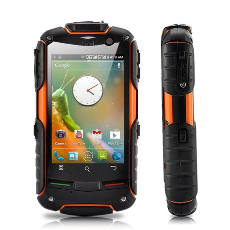 fortis evo rugged gps android 4 0 phone with 3 2 inch ips touchscreen waterproof dustproof