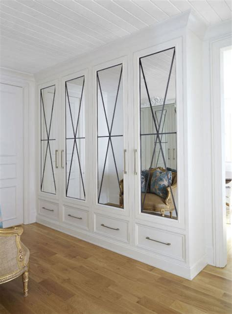 Foyer Closet Doors Closets With Mirrored Doors Entrance Foyer