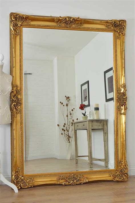 image gallery large wall mirrors sale large gold very ornate antique design wall mirror 7ft x