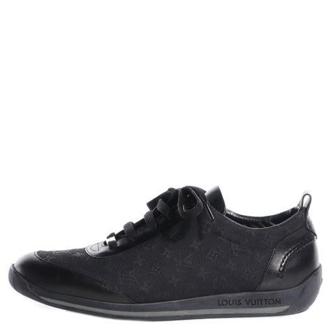 38 Louis Vuitton Shoes louis vuitton mini monogram sneakers tennis shoes 38 black