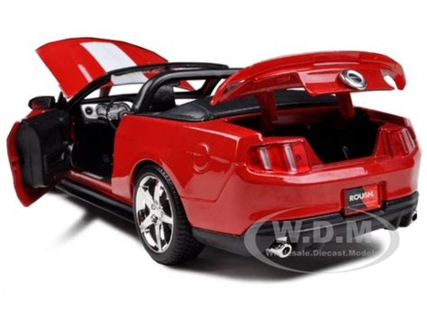 Ford Mustang Gt 2010 Biru Diecast 125 2010 ford mustang convertible 427r roush edition 1 18