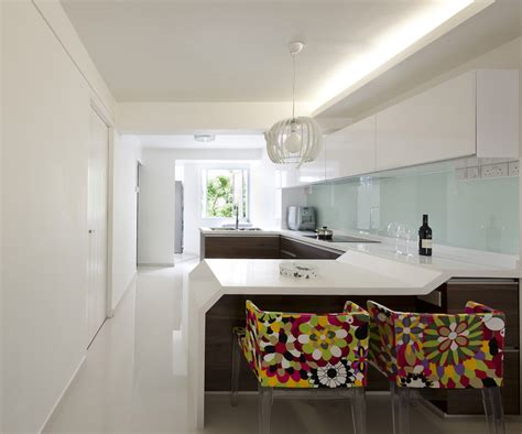 3 trendy hdb flat homes with monochromatic colour schemes rezt relax interior 3 room hdb at dover singapore