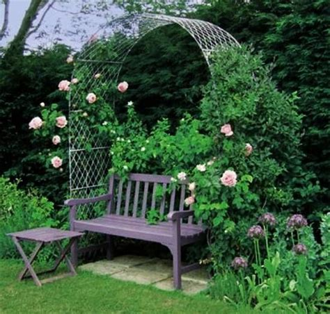 garden arch with bench 25 best ideas about outdoor seating areas on pinterest