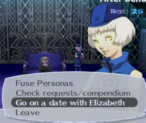 Liz Went On A Date With A by Persona 3 Fes Request 56
