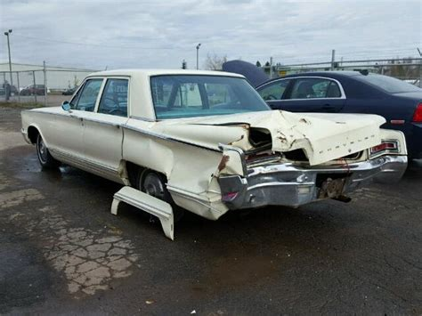 1966 Chrysler Newport For Sale by 1966 Chrysler Newport For Sale At Copart Moncton Nb Lot