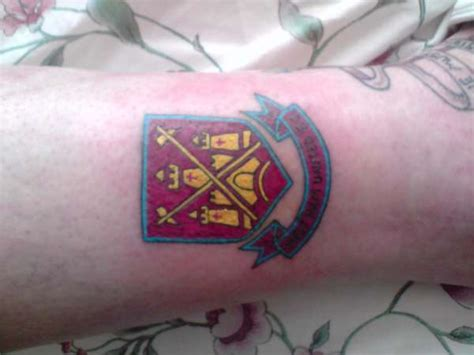 west ham tattoo designs west ham pictures to pin on tattooskid