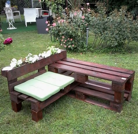 pallet couch plans 10 pallet bench for your backyard pallet furniture plans